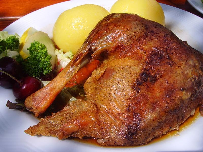 Martinsgans-Essen auf dem Schwartenberg